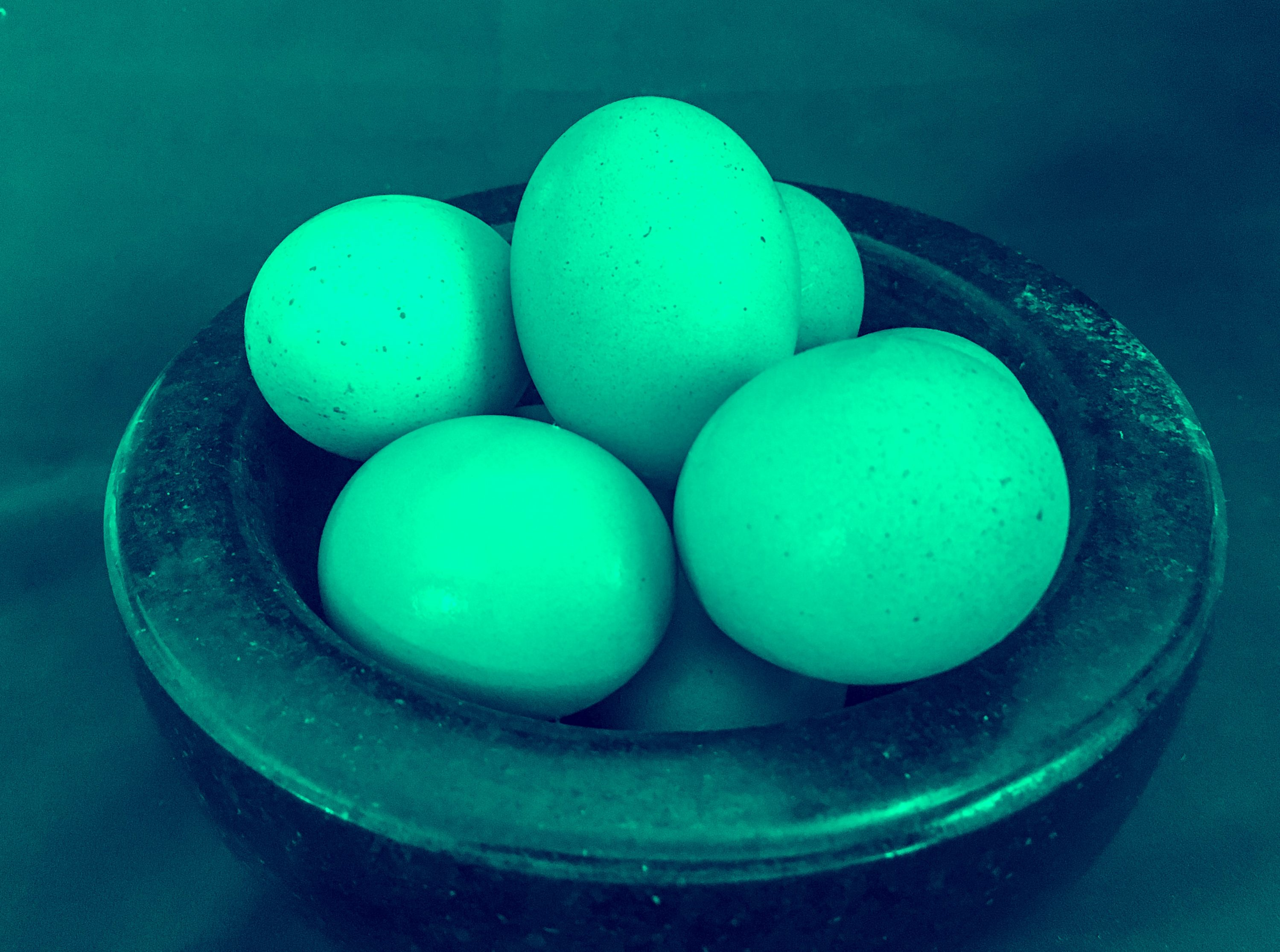 jade eggs in a bowl, ready for vaginal exercise and pleasure